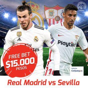 Promocion apuestas deportivas Madrid Sevilla