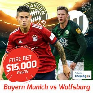 Freebet Bayern Munich vs Wolfbusrgo