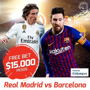 Freebet Madrid vs Barcelonaç