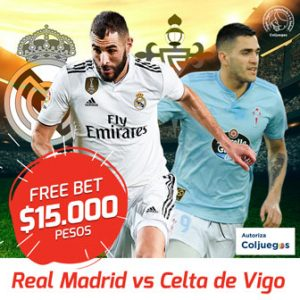Freebet Real Madrid vs Celta