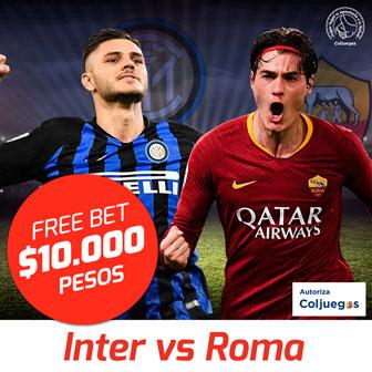 Freebet Inter vs Roma