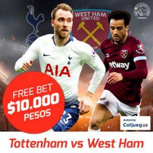 Freebet Tottenham vs West Ham