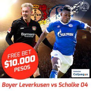 Freebet Bayer Leverkusen vs Schalke 04
