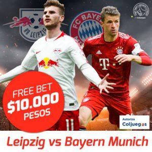 Freebet Leipzig vs Bayern de Munich