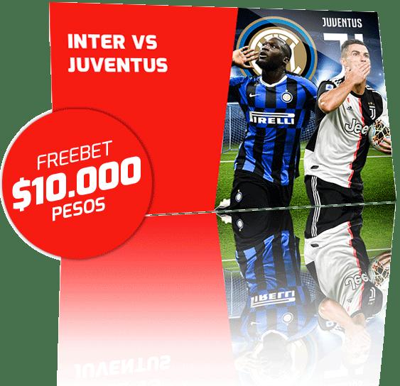 Promocion Inter de Milan vs Juventus