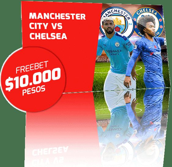 Freebet Manchester City vs Chelsea