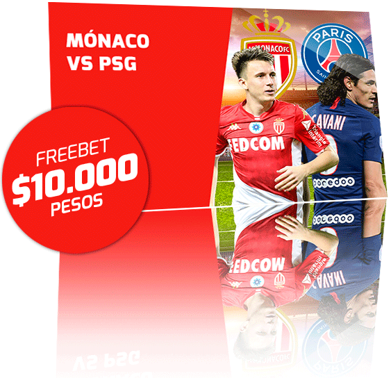 Freebet Monaco vs PSG