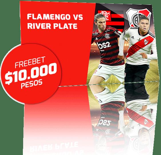 Freebet River Plate vs Flamengo