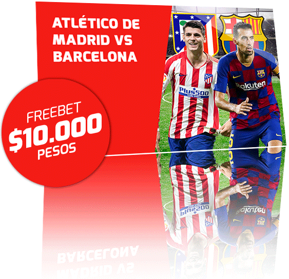 Freebet Atletico de Madrid vs Barcelona