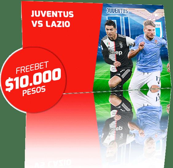 Freebet Juventus vs Lazio