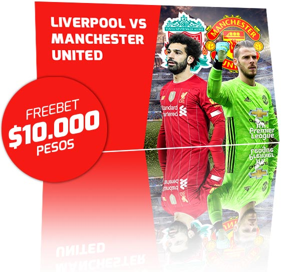 Freebet Liverpool vs Manchester United