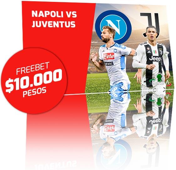 Freebet Napoli vs Lazio