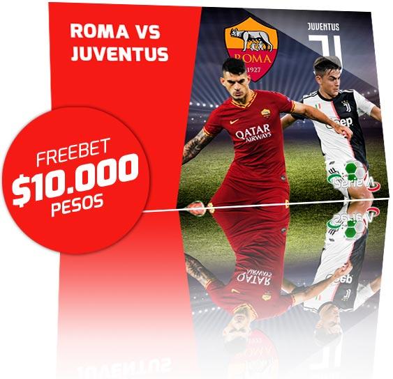 Freebet Roma vs Juventus