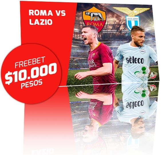 Freebet Roma vs Lazio