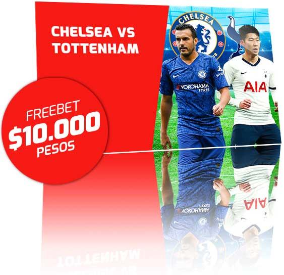 Freebet Chelsea vs Tottenham
