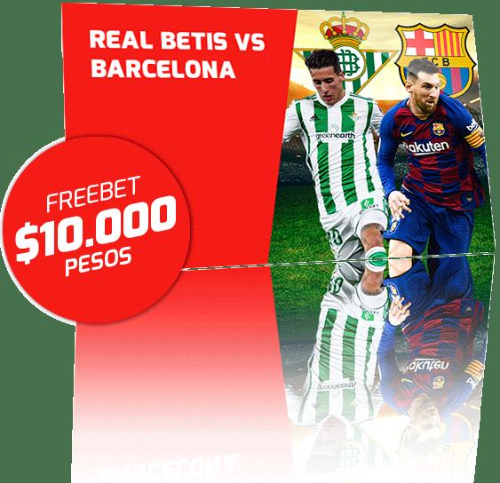 Freebet Real Betis vs Barcelona