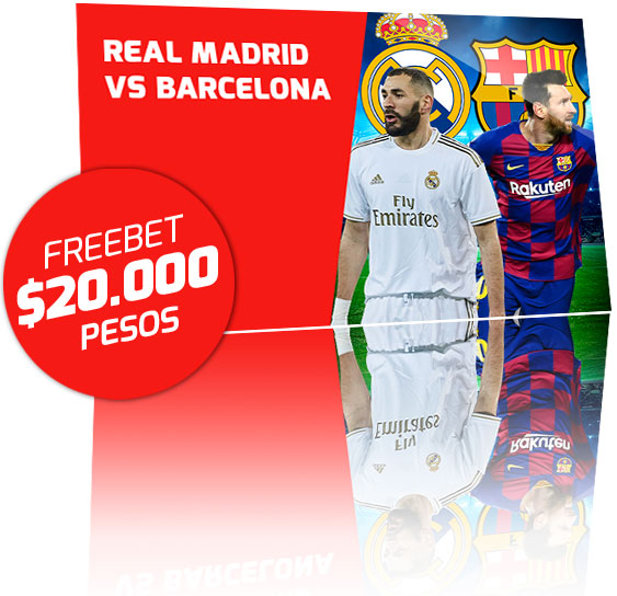 Freebet Real Madrid vs Barcelona