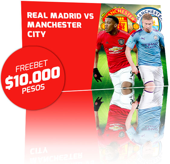 Freebet Manchester United vs Manchester City