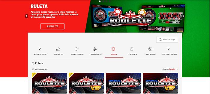 Promociones casino online zamba col