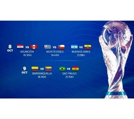 Fotografía Juegos clasificatorios para el mundial de Catar 2022