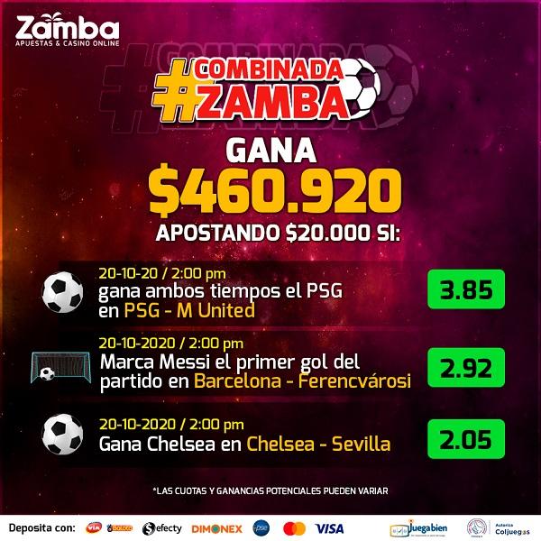 promociones zamba champions league