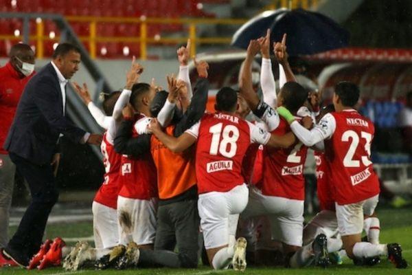 Fotografía jornada 20 de la liga colombiana santa fe