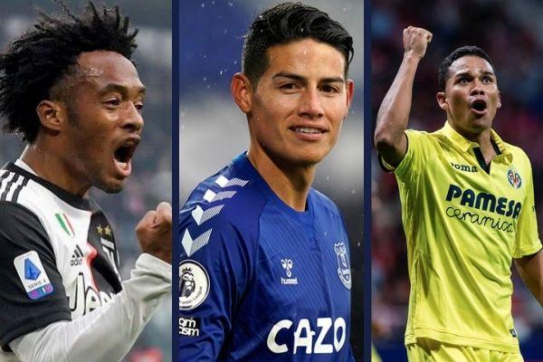 Futbolistas colombianos por el mundo europa