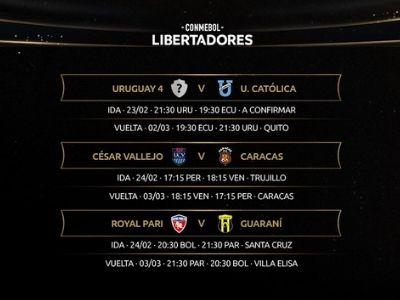 copa libertadores 2021 clasificados primera ronda