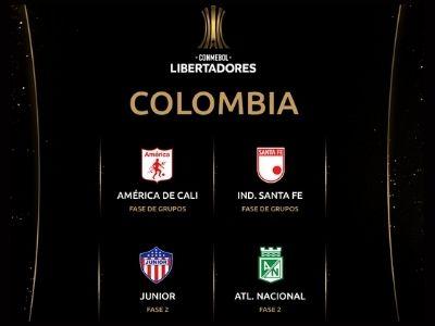copa libertadores 2021 equipos colombianos