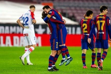 ligas europeas del 19 al 22 barcelona