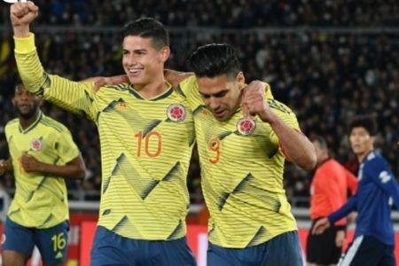 selección colombiana en la fase de grupos de la Copa América james rodriguez