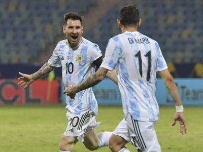 Colombia vs Argentina en la semifinal de la Copa América